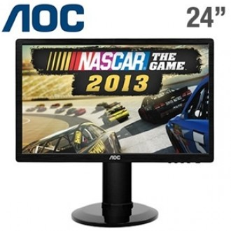 "24"" LED MONITOR AOC E2460p"
