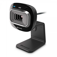 Microsoft T3H-00013 LifeCam HD-3000 Black, 720p