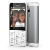 Nokia 230 Silver, 2.8