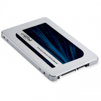 Crucial MX500 250 GB, SSD interface SATA, Write speed 510 MB/s, Read speed 560 MB/s