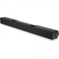 Dell Stereo Soundbar AC511M Speaker type Sound bar - stereo - 2 - active, Mini-phone stereo 3.5 mm USB 2.0, Black, 2.5 W
