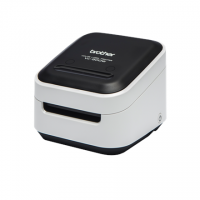 Brother VC-500W Colour, ZINK Zero-Ink Full Colour Printing Technology, Label Printer, Wi-Fi, Black/ grey