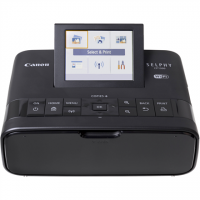 Canon CP1300 Colour, Dye-sublimation thermal transfer printing system, Selphy Photo printer, Wi-Fi, Black