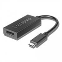 Lenovo 4X90Q93303 USB-C to DisplayPort Adapter, Black