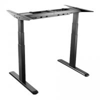 LogiLink EO0001 Sit-Stand Desk Frame, dual motor, black