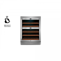 Caso Wine cooler WineChef Pro 40 Free standing, Showcase, Bottles capacity 40, Silver