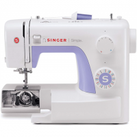 Singer Sewing Machine Simple 3232 White, Number of stitches 32, Number of buttonholes One-Step Buttonhole, Automatic threading