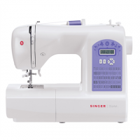 Singer Sewing Machine Starlet 6680 Number of stitches 80, Number of buttonholes 6, White