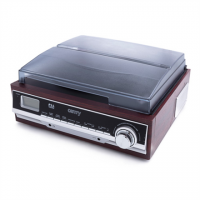 Camry Turntable CR 1168 Bluetooth, USB port, AUX in, Brown