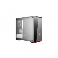Cooler Master MasterBox Lite 3.1 Side window, Black, Micro ATX, Mini ITX, Power supply included No
