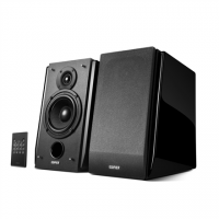 Edifier R1850DB Speaker type Active 2.0, 3.5mm AUX Bluetooth 3.5mm to RCA Optical/Coaxial, Bluetooth version 4.1, Black, 16 x 2