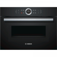 Bosch Oven with microwave CMG633BB1 45 L, Black, Touch, Built-in, 1000 W