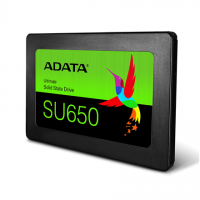 ADATA Ultimate SU650 3D NAND SSD 480 GB, SSD form factor 2.5 , SSD interface SATA, Write speed 450 MB/s, Read speed 520 MB/s