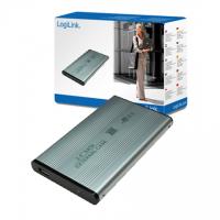 Logilink Enclosure 2.5 inch S-ATA HDD USB 2.0 Alu 2.5